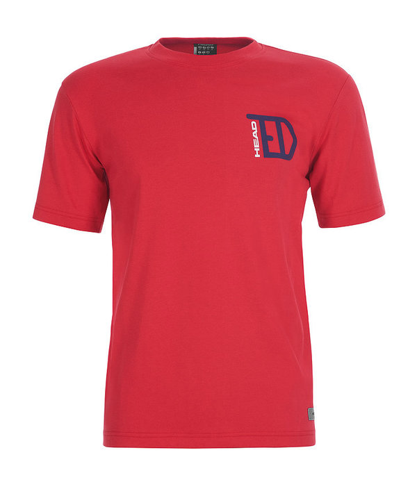 HEAD CASUAL TED T-SHIRT - RED