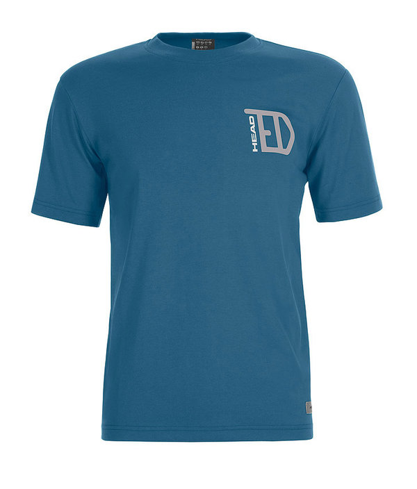 HEAD CASUAL TED T-SHIRT - BLUE